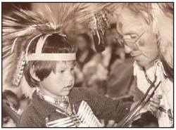 BOY WITH ELDER