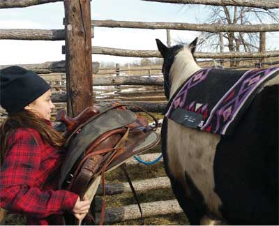 THE HORSE NATION INITIATIVE GIVES STUDENTS THE CHANCE TO EXPERIENCE LIFE ON A RANCH