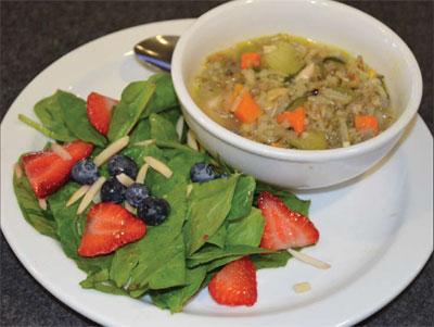 LEECH LAKE TRIBAL COLLEGE HEALTHY EATING