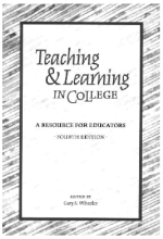 TEACHING AND LEARNING COVER