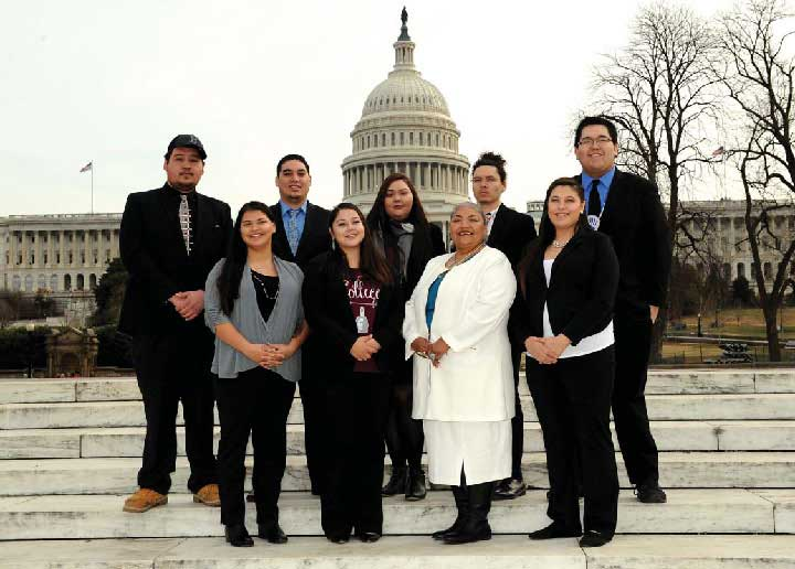 AIHEC STUDENT CONGRESS IN WASHINGTON, D.C. FOR NATIONAL TRIBAL COLLEGE WEEK