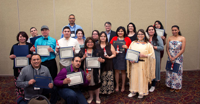 AMERICAN INDIAN COLLEGE FUND HONORS STUDENTS AND LEADERS