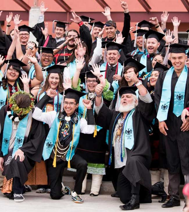 INSTITUTE OF AMERICAN INDIAN ARTS GRADUATES