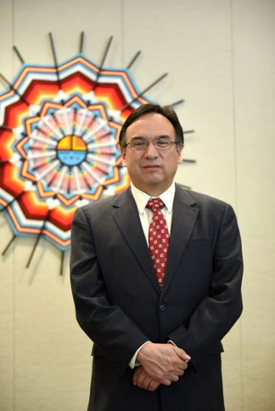 RAYMOND BURNS NAMED PRESIDENT OF LEECH LAKE TRIBAL COLLEGE