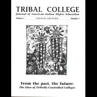 TRIBAL COLLEGE JOURNAL ISSUE 1