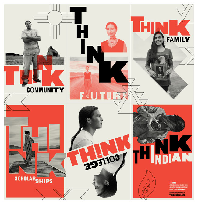 THINK INDIAN - AMERICAN INDIAN COLLEGE FUND 2018