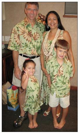 MAENETTE BENHAM AND HER FAMILY
