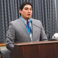 AIHEC STUDENT CONGRESS PRESIDENT CHRIS SINDONE
