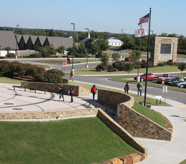 College of Muscogee Nation campus. Photo by Marissa Parker