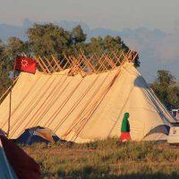 Dakota Access Pipeline protest camp