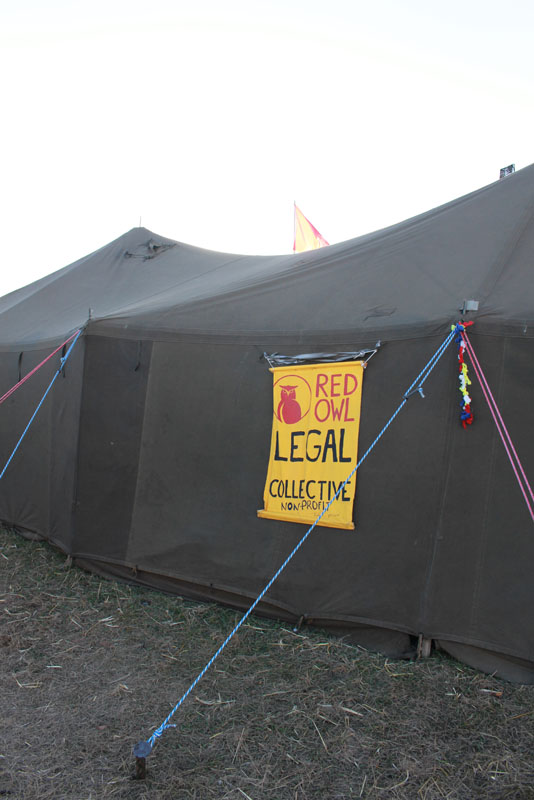 RED OWL LEGAL COLLECTIVE TENT