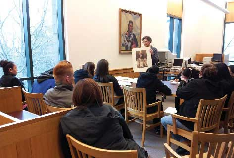 SPOKANE TRIBAL COLLEGE SERVES NATIVE STUDENTS FROM THE SPOKANE INDIAN RESERVATION