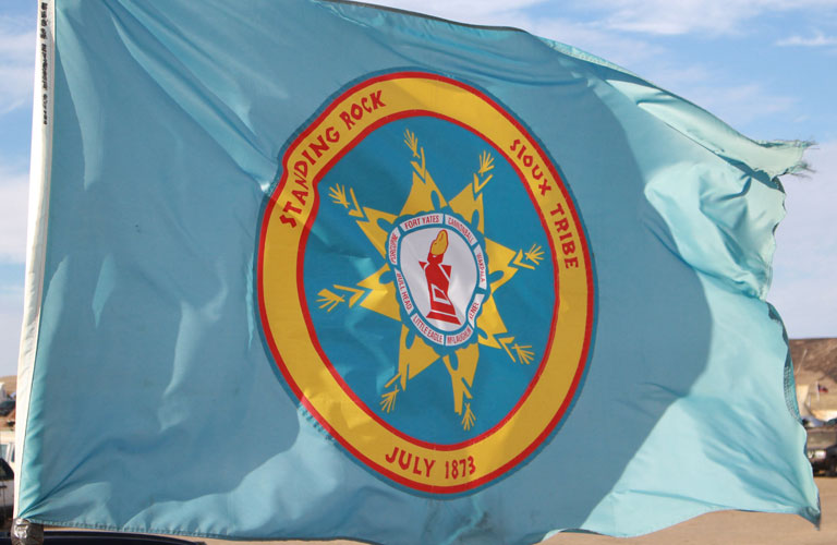 STANDING ROCK SIOUX TRIBE FLAG