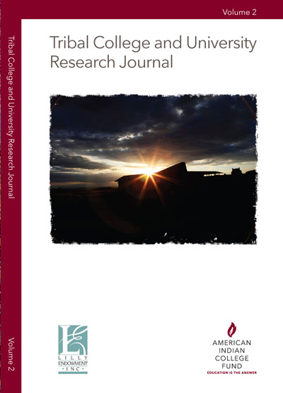 TRIBAL COLLEGE AND UNIVERSITY RESEARCH JOURNAL