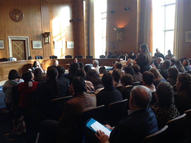 TRIBAL COLLEGES CONVERGE ON CAPITOL HILL