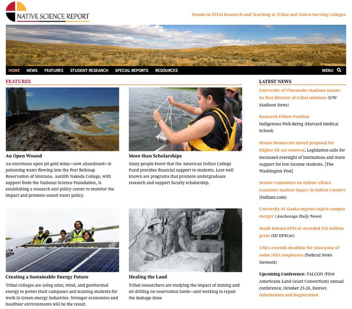 NSF-funded STEM website