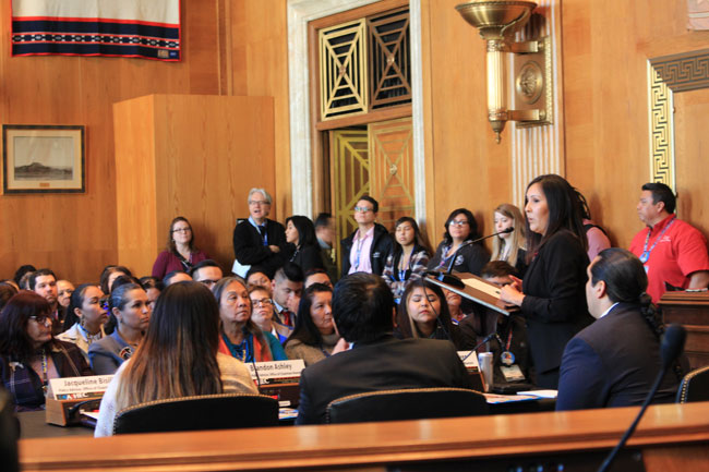 Tribal College Students and Leaders Visit Capitol Hill for