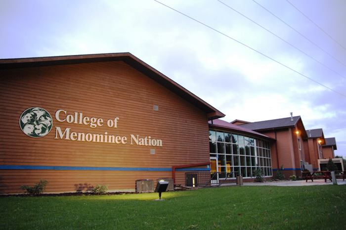 COLLEGE OF MENOMINEE NATION MAIN BUILDING