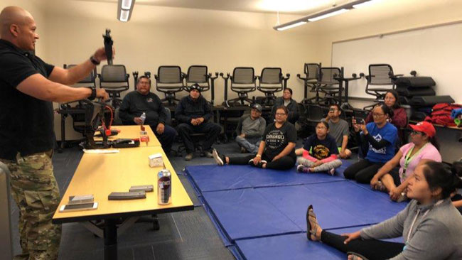 DINE COLLEGE ACTIVE SHOOTER TRAINING