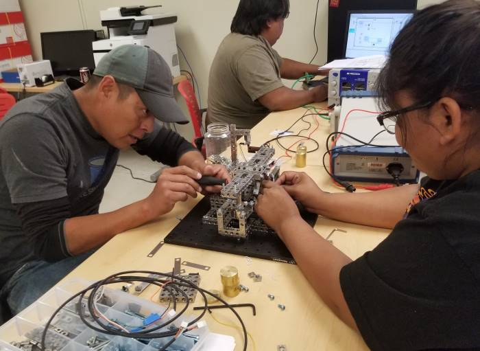 navajo technical university engineering students