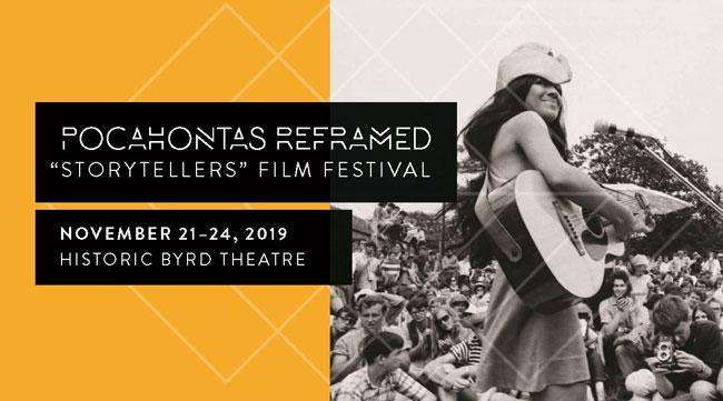 POCAHONTAS REFRAMED STORYTELLERS FILM FESTIVAL